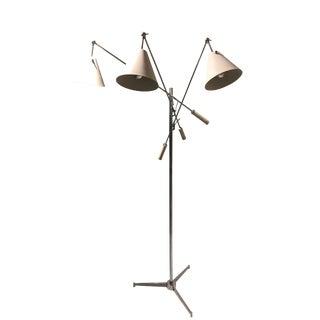 Angelo Lelli Triennial Floor Lamp For Sale