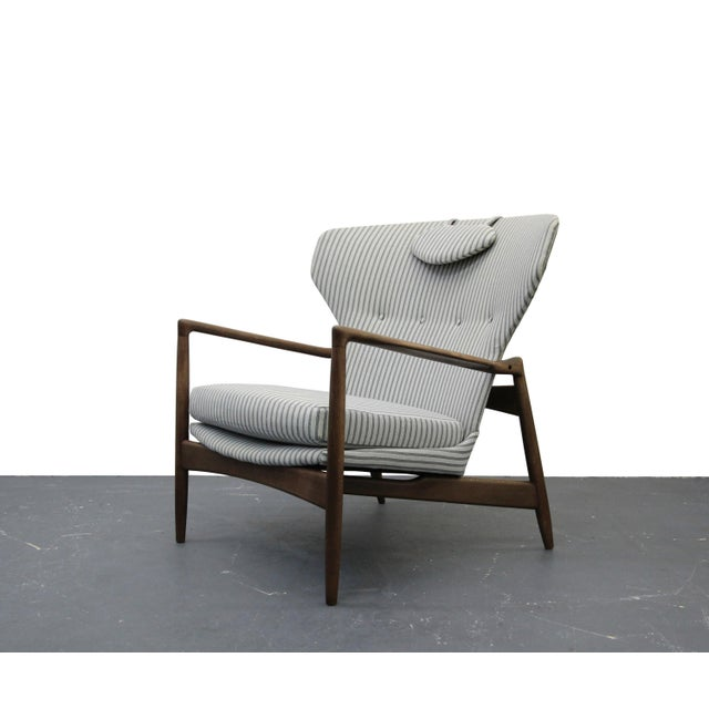 Mid Century Danish Wingback Lounge Chair by IB Kofod-Larsen - Image 2 of 9