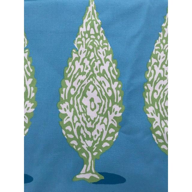 Dana Gibson for Stroheim Priya Peacock Fabric - 2 1/2 Yards For Sale In Raleigh - Image 6 of 8