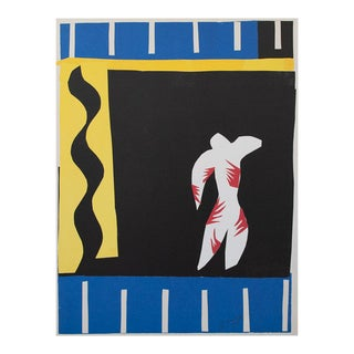"""Henri Matisse """"The Clown"""" First German Edition Poster For Sale"""