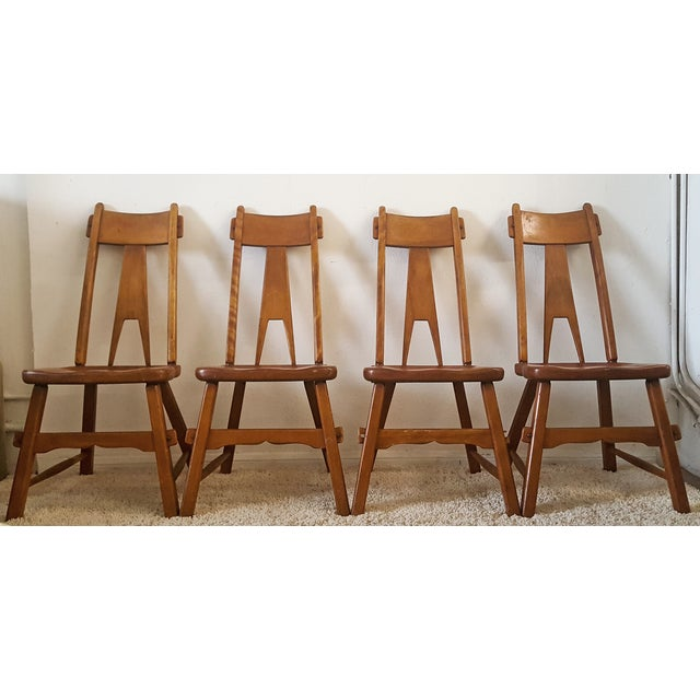 Sikes Furniture Chairs From 1939 - Set of 4 - Image 3 of 10