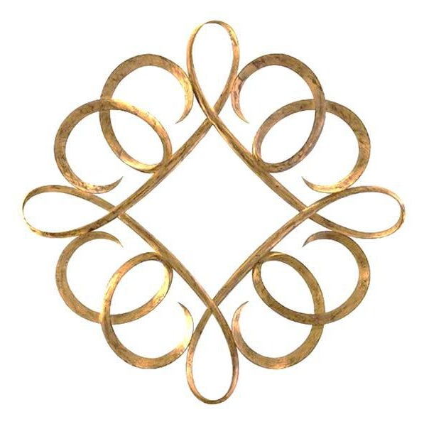 Christopher Guy Diamond Curl Mirror - Image 3 of 3