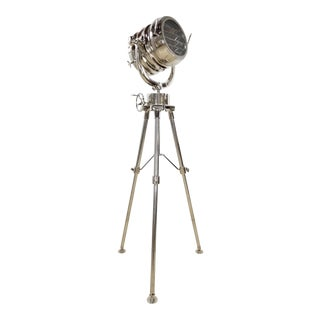 Restoration Hardware Royal Nautical Master Searchlight For Sale