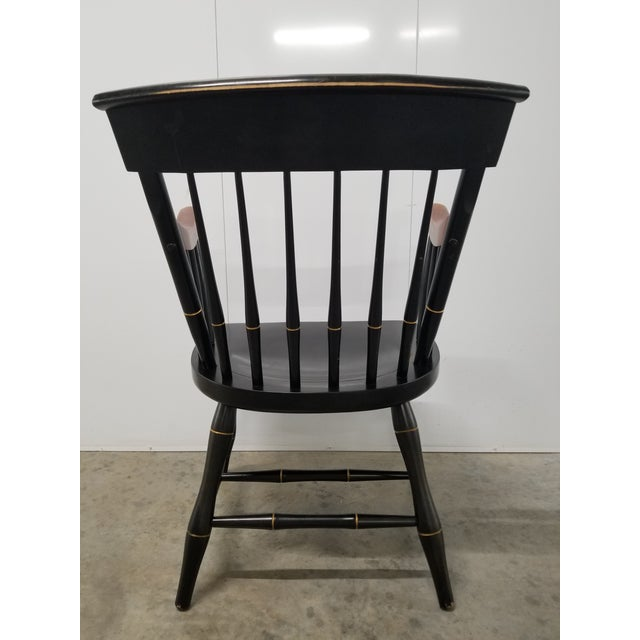 Nichols & Stone Americana Nichols & Stone Princeton Windsor Chair For Sale - Image 4 of 9