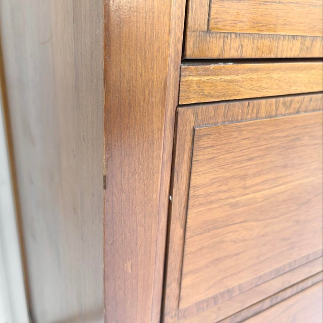 Mid-Century Highboy Dresser From Basic-Witz For Sale - Image 9 of 13