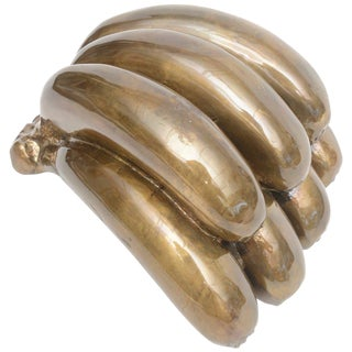 1980s Pop Art Bronze Bananas Sculpture For Sale