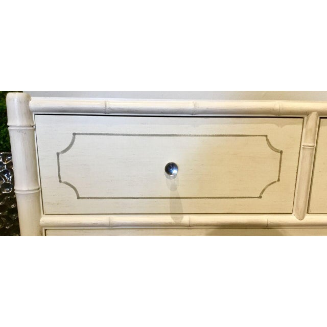 Bungalow 5 Bungalow 5 Asian Modern White Penelope Four Drawer Dresser/Chest For Sale - Image 4 of 7