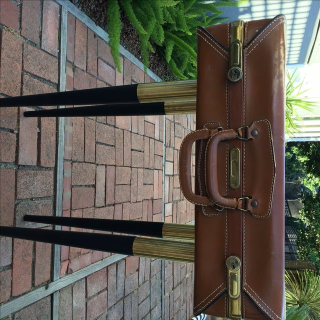Vintage Suitcase Side Table - Image 7 of 7
