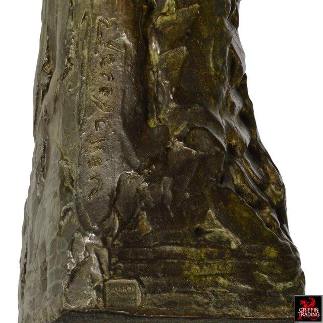 Female Nude Bronze Sculpture by Edouard Vereycken, circa 1925 For Sale - Image 9 of 10