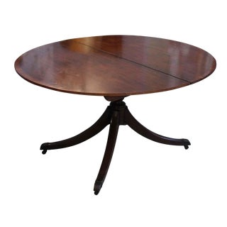 Mahogany Duncan Phyfe Dining Table For Sale