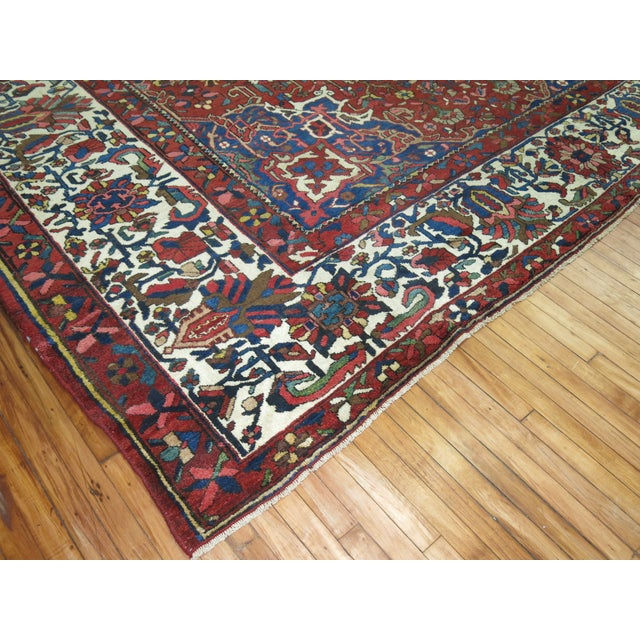 Antique Persian Bakhtiari Rug - 12'3'' X 18'2'' - Image 3 of 9