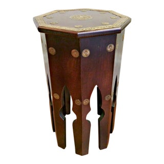 Moroccan Style Octagonal Accent Table