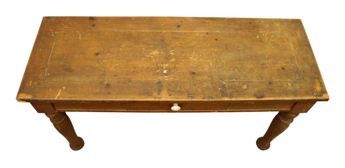 Broyhill Thin Wooden Table   Image 5 Of 10