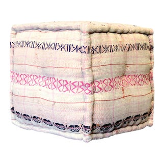 Bengal Kantha Embroidery Cube