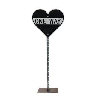 """Scott Froschauer """"Small One Way Heart Ii"""" Original Sculpture For Sale"""