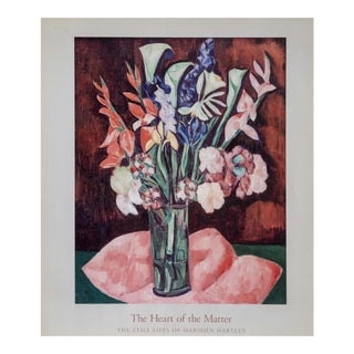 2003 Marsden Hartley Exhibition Poster For Sale
