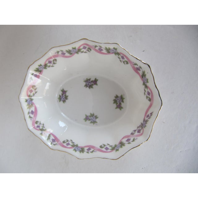 Early 21st Century Mann Bone China Bowl For Sale - Image 5 of 5