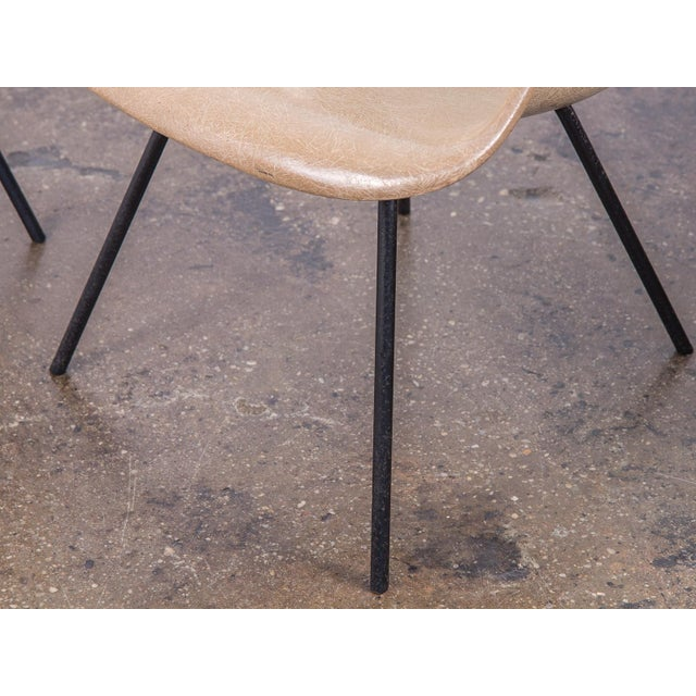 Gray Second Generation Greige Eames Armshell Chair For Sale - Image 8 of 11