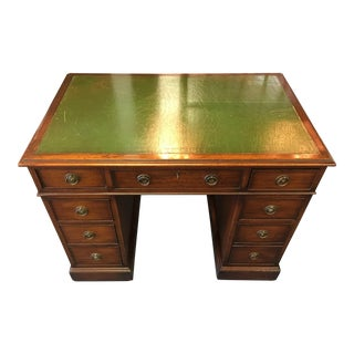Antique Mahogany Partner Desk For Sale
