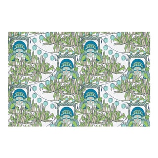 Bungalow Imperial Linen Cotton Fabric, 6 Yards For Sale