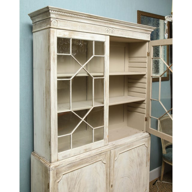19th Century Painted English Cabinet For Sale In New York - Image 6 of 13