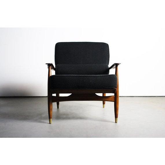 Finn Juhl Attributed Walnut Lounge Chair - Image 3 of 6