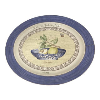 Wedgwood Signed Duchess of York Sarah's Garden Platter For Sale