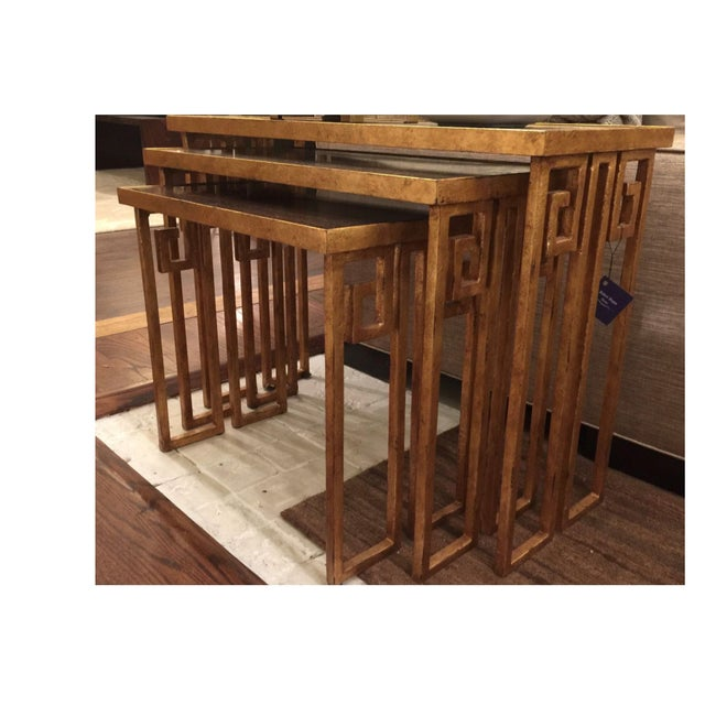 Century Furniture Nesting Tables - Set of 3 - Image 2 of 4