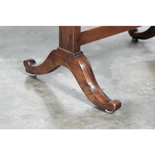 Antique French Wine Tasting Table For Sale - Image 9 of 10