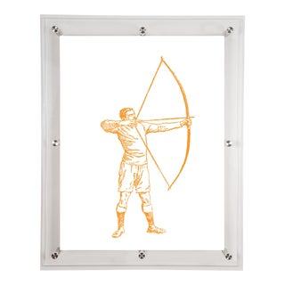 Mitchell Black Home Archer Art For Sale