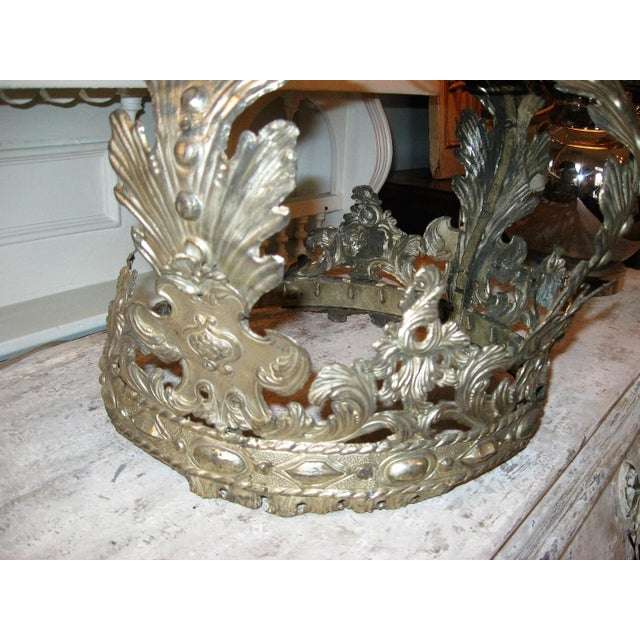 19th Century French Bed Corona For Sale In New Orleans - Image 6 of 10