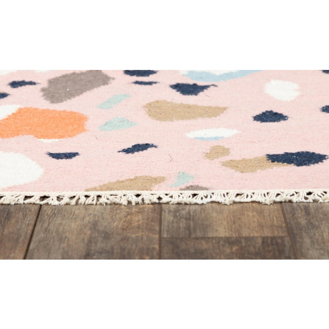 Contemporary Novogratz by Momeni Jem Terri in Pink Rug - 2'X8' Runner For Sale - Image 3 of 7