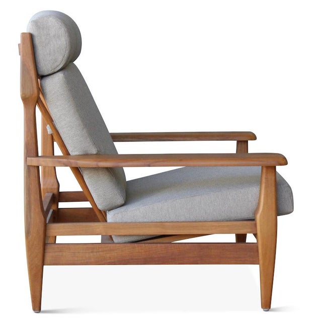 Mid-Century Modern Outdoor Formosa Armchair For Sale - Image 3 of 8