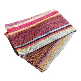 Peruvian Frazada Throw / Rug
