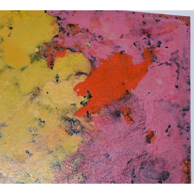 21st C. Modernist Abstract Oil Painting by Manor Shadian (B.1931 Iran / California) For Sale - Image 4 of 12
