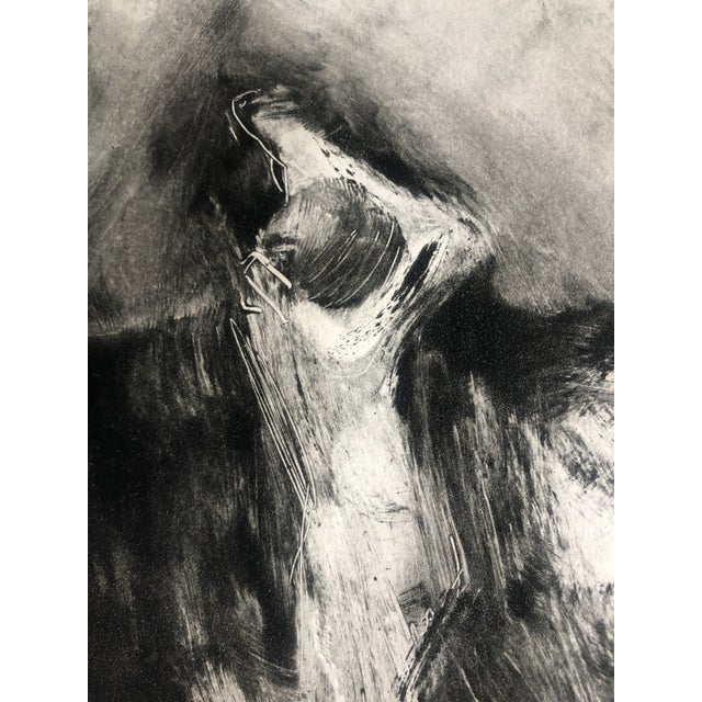 1970s 1970s Abstracted Figure Aquatint For Sale - Image 5 of 7
