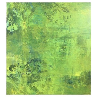 Acrylic Painting Titled: Citron Dream III For Sale
