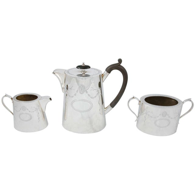3 Piece Coffee Set For Sale - Image 11 of 11