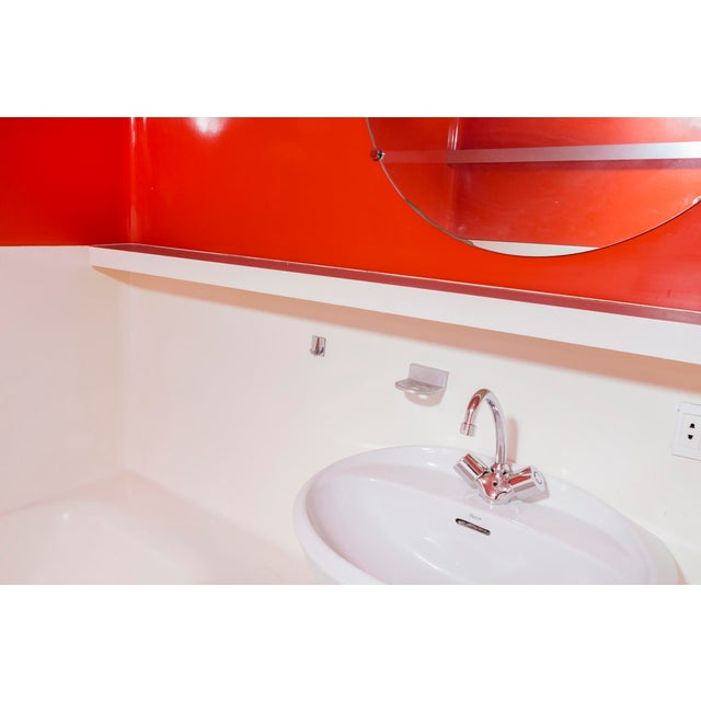 Les Arcs 1800 Prefabricated Bathroom Unit by Charlotte Perriand For Sale In Chicago - Image 6 of 12