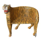 Image of 1970's Vintage Tiger Tub Chair For Sale
