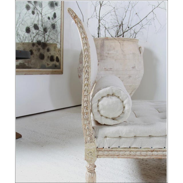 Gustavian (Swedish) 18th C Gustavian Banquette For Sale - Image 3 of 6