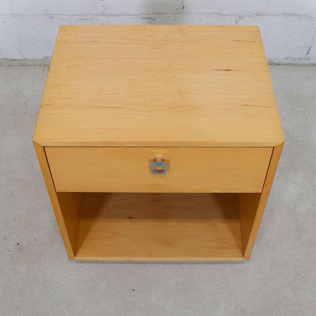 Mid-Century Modern Jack Cartwright for Founders Blonde End Table For Sale - Image 3 of 10