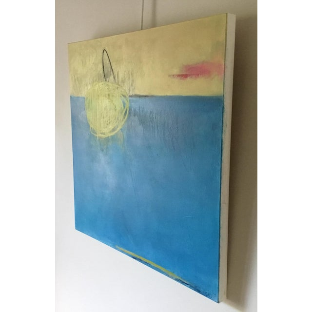 """""""Summer Game"""" Original Abstract Painting by Carolyn Reed Barritt For Sale - Image 4 of 5"""