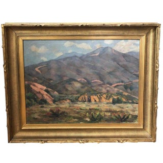 Impressionist Landscape Painting Signed William Sheldon Horton For Sale