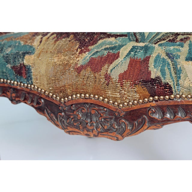 Pair of Period Louis XV Fauteuils - Image 8 of 9
