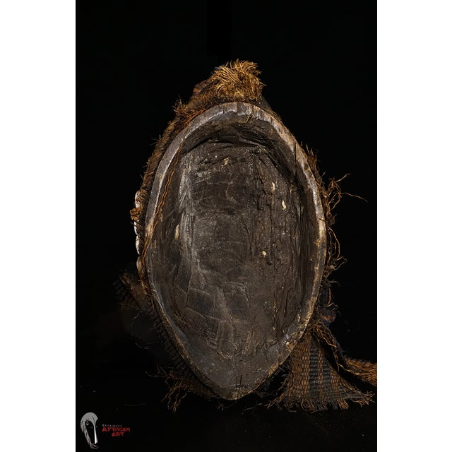 Punu African Tribal Mask from Gabon - Image 8 of 8