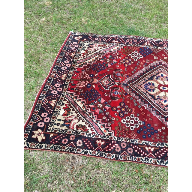 Islamic Antique Turkish Handmade Wool Rug - 2′7″ × 4′9″ For Sale - Image 3 of 5