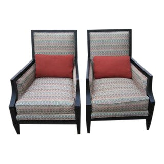 Century Furniture Xavier Accent Chairs - A Pair