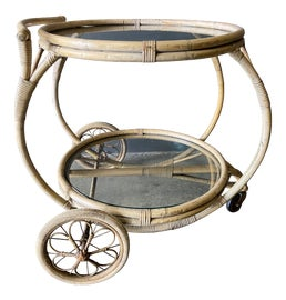 Image of Shabby Chic Outdoor Bar Carts