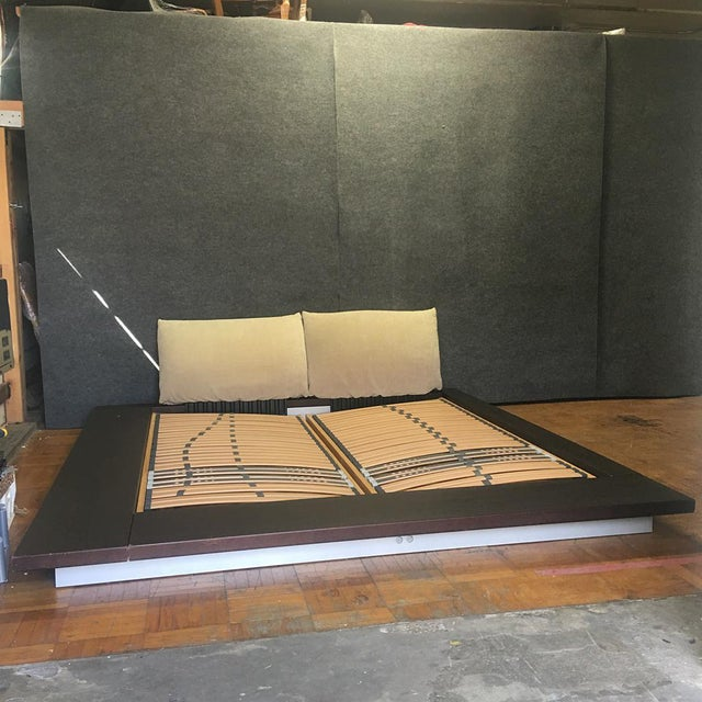 Modern Ligne Roset Peter Maly Queen Bed For Sale - Image 3 of 9